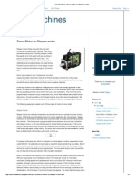 Cnc Machines_ Servo Motor vs Stepper Motor