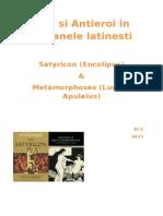 Eroi Si Antieroi in Romanele Latinesti