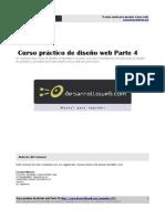 Curso Práctico de Diseño Web - Parte IV