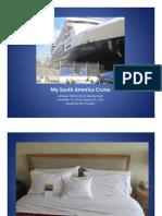 My South America Cruise