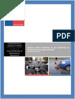 Analisis Espacio Temporal de Los Accidentes de Motocicleta en El Gran Santiago