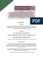Guía de Proyectos Orientados a Fortalecer La Acción Social Comunitaria