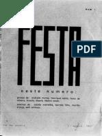Revista A Festa