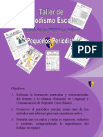 Presentación Taller de Periodismo(1)