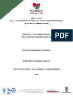 Formato Para Ppsv Instituciones Educativas