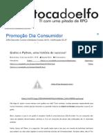 #Tocadoelfo_ Grafos e Python, Uma História de Sucesso!