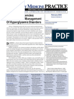 Diabetic Emergencies Diagnosis and Management of Hyperglycemic Disorders