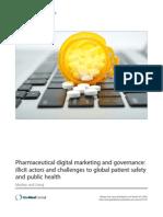 Pharmaceutical digital marketing and governance
