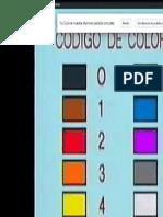 Curso d Electronica Valoreas Colores
