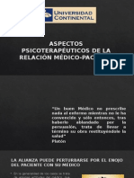 Aspectos Psicoterapéuticos de La Relación Médico-paciente