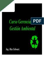 Curso Gerencial de Gestion Ambiental