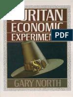 Puritan Economic Experiments - Gary North