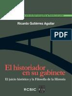 El historiador en su gabinete - Gutiérrez Aguilar, Ricardo.pdf