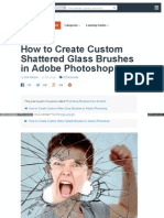 How to Create Custom Shattered
