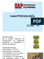 Clase 10 Nanotecnologia