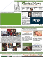 Central 1st Ward Newsletter March 2015