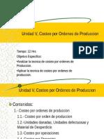 Costeo Unidad V y VI.ppt