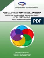 3.3 SPIP Pengendalian Atas Pengelolaan Sistem Informasi