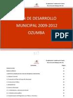 Plan de Desarrollo Municipal de Ozumba de Alzate(2009)