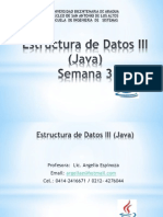 Estructura de Datos III Semana 3 2014II