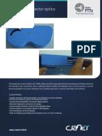 Folder_pt Limpador de Conector Óptico