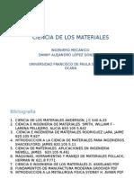 Introduccion Ciencia de Los Materiales