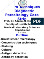 Modern Techniques in Diagnostic Parasitology 4-2-2015