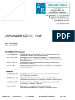 Abwasser Koenig Profil
