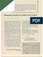 Designing Override and Feedforward Controls