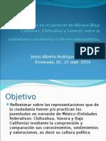 Las Juventudes en El Noroeste de México (Baja California, Chihuahua y Sonora)