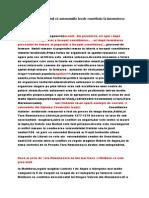 Autonomiile Locale Contribuie La Formarea Statelor Medievale Romanesti
