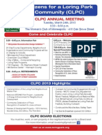 CLPC Annual Meeting 2015