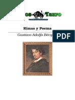 Gustavo Adolfo Becquer  - Rimas y poemas.doc