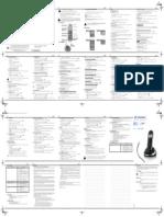 Sagem D164 Telefone Manual