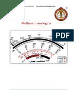 Multimetro Analogo