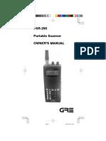 PSR295 Scanner