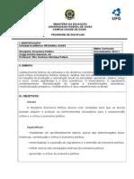 Planodeensino EcoPol UFG 2014_1