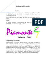 Heladería Piamonte