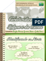 Características Da Leitura e Escrita