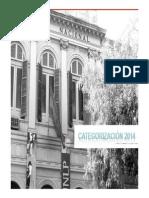 Categorizacion 2014 Proceso