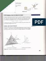 tetraedro esfuerzos