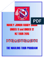 manly junior rugby union tour booklet 2015