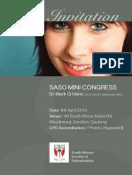 SASO 1 Day Programme Mark Hans