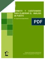 Formato y Cuestionario Para Elaborar El Analisis Puesto-libre