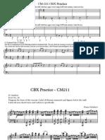 CM 211&212 CBX Practice