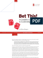 BetThis -- A Gambler's Guide to Leadership