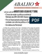 Em Defesa Do Mandato Dado a Dilma