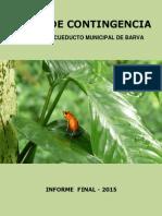 Plan de Contingencia Acueducto Municipal de Barva - LINEAS 1 y 2(1)