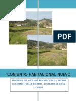 Estudio de impacto ambiental Huillcapampa