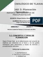 Tema 3 Planeacion Operativa